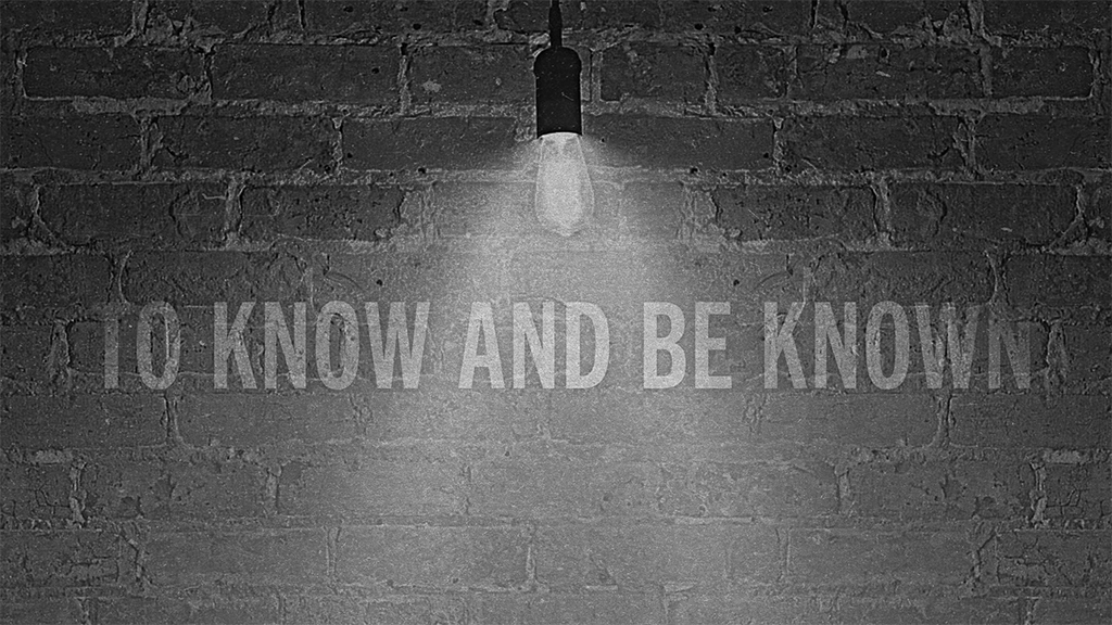 To Know and Be Known: Fluent in Grace and Truth